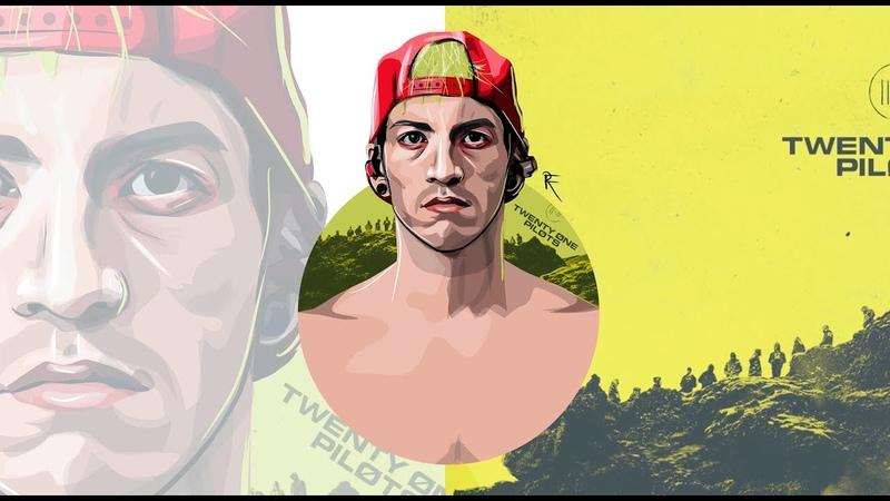 Frankad digital art - Joshua Dun (twenty one pilots)