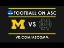 NCAAF Football Michigan VS Notre Dame