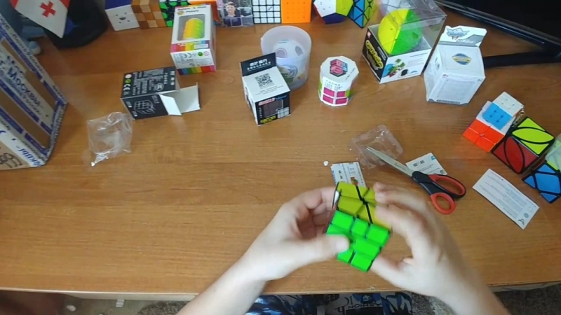 Анбоксинг с CCCSTORE.RU - QiYi MoFangGe X-man Skewb, Square, Mirror Blocks, Ivy Cube etc