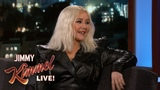 Christina Aguilera on Touring with Her Kids