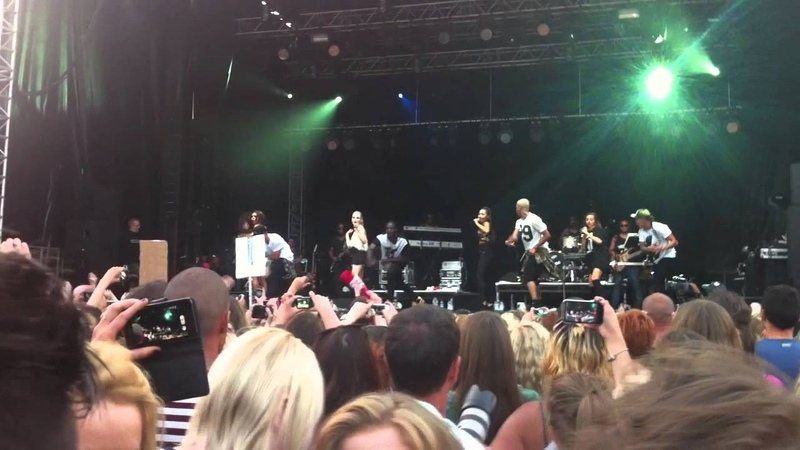 Little Mix- Stereo Soldier Clip at Access All Eirias 21-7-13