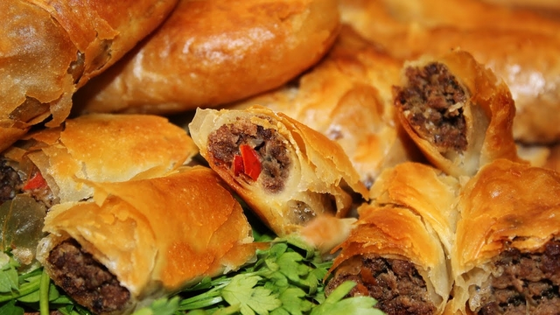 Рецепты_ Знаменитый албанский бюрек. Кухня с акцентом