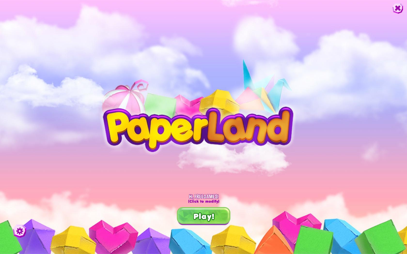 Бумажная страна | Paper Land (En)