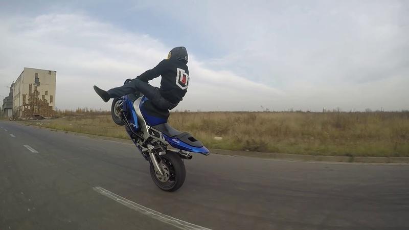 Stunt Ride Kawasaki 636 Katowice Huta