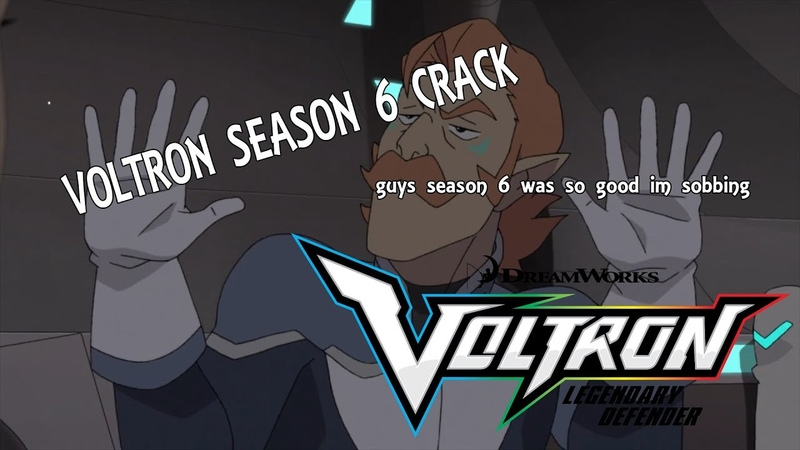 VOLTRON SEASON 6 CRACK MY SHIP WAS SUCKED BY A BLACK HOLE
