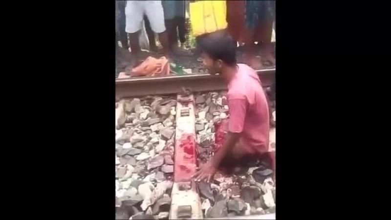отрезало ноги поездом