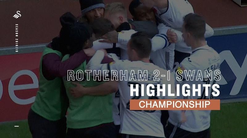 Highlights Rotherham United 2 - 1 Swansea City