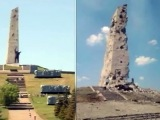 На кургане Саур-Могила снарядами разрушен монумент памяти ВОВ