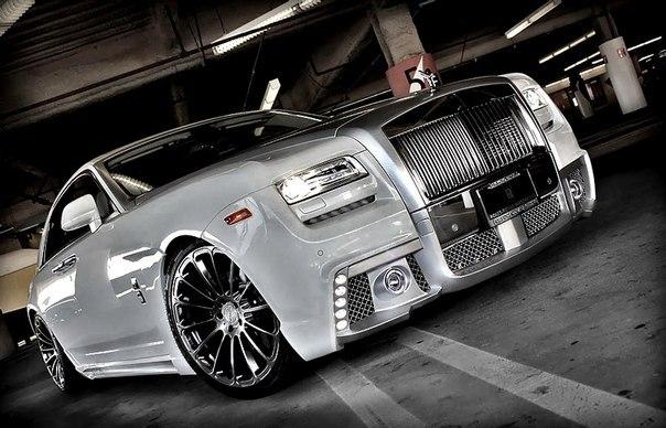 Rolls Royce Ghost by Wald