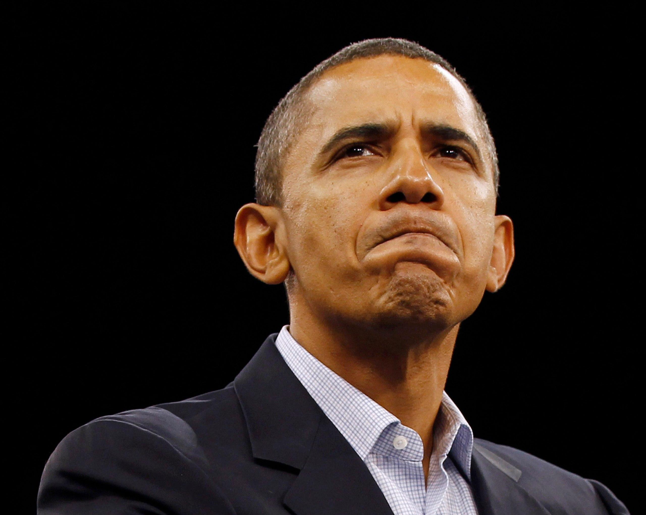Нелепая пресс-конференция: Обама сел в лужу и ушел по-гавайски