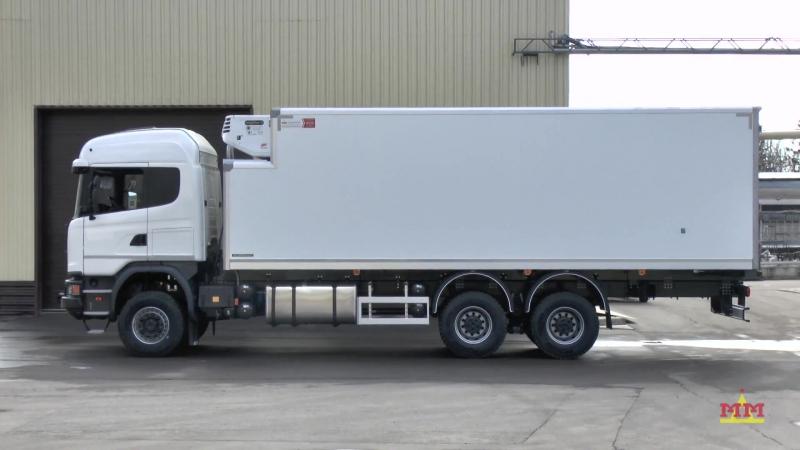 Scania G 480 полноприводный фургон-рефрижератор