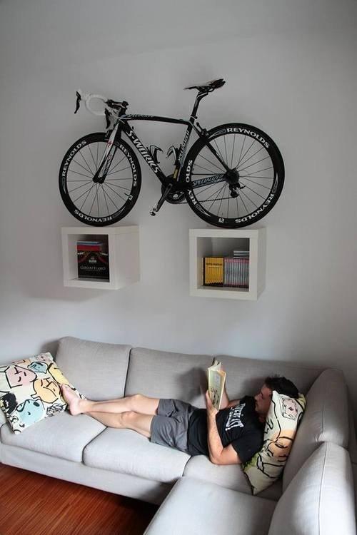 Хранение велосипеда зимой в квартире
