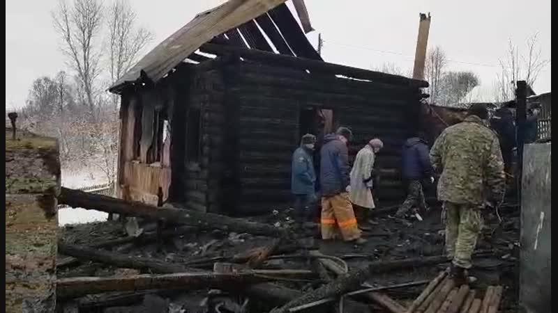 гибель 6 человек на пожаре 29 ноября 2018 года в городе Чусовом