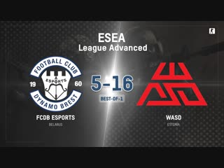 FCDB vs WASD (BO1) | ESEA League Advanced [Kom]