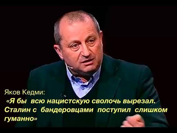 Яков Кедми фрагмент интервью Я бы всю нацистскую сволочь вырезал