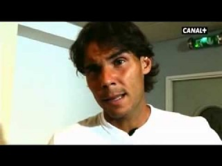 05/06/13 Rafael Nadal's short interview to Canal+ (in Spanish)