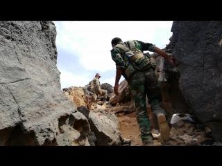 انجازات جديدة لجيشنا البطل في الجروف الصخرية.. السيطرة على عدد من المسطحات المائية والعثور على اسلحة للارهابيين وقتل عدد منهم وا