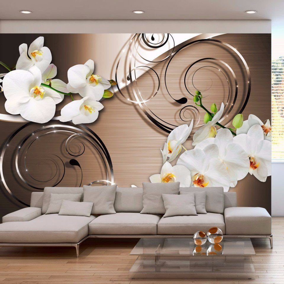 3 д обои на стены фото цены цветы