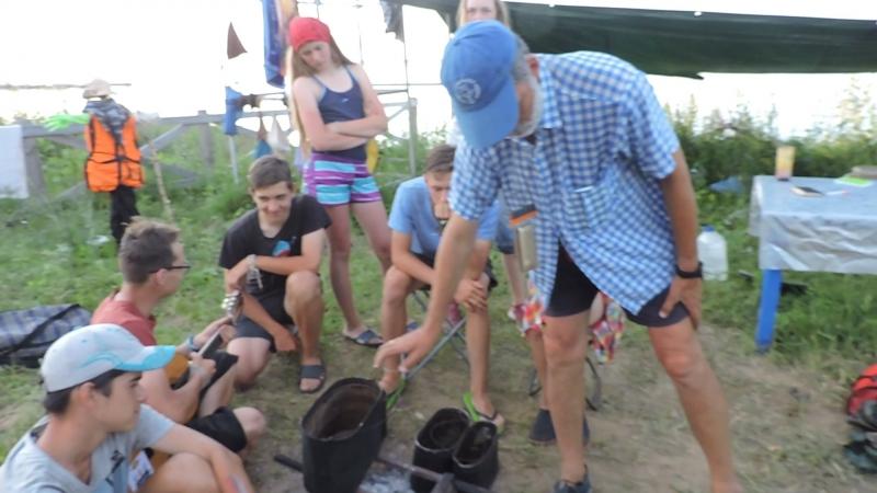 Экспедиция школьников из Москвы в Чебоксарском районетаванен