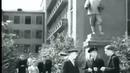 Город украшенный памятниками и парками Новокузнецк в прошлом Сталинск 1949 кинохроника СССР