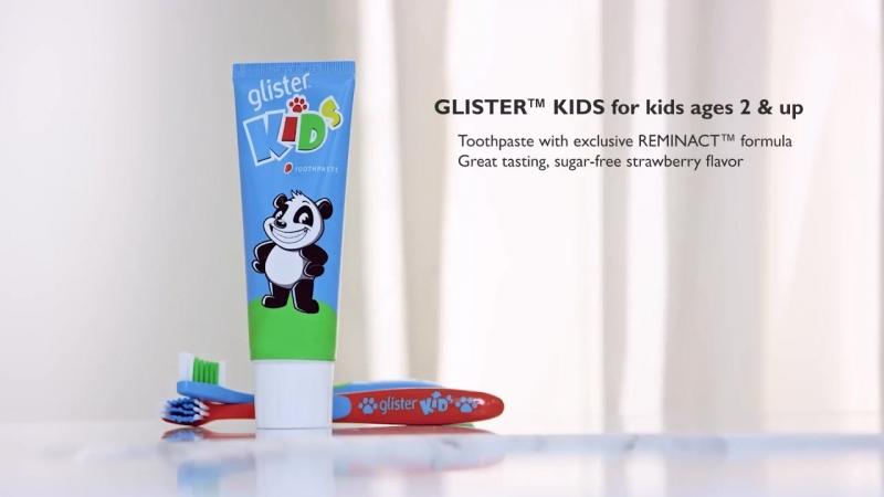 Glister Kids эксклюзивно от Amway.
