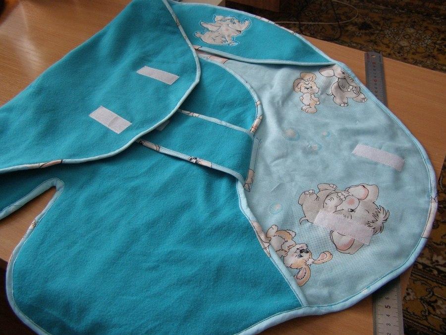 Одеяло кокон для новорожденных своими руками
