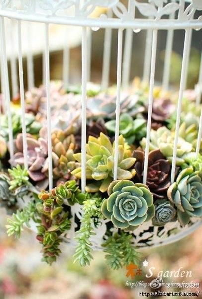Садовый декор — для дома (9 фото) - картинка