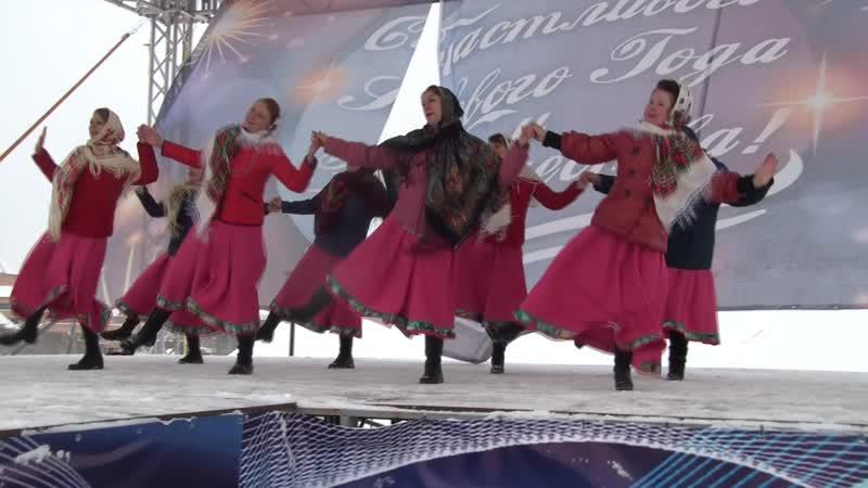 Лебедушки - танец Две деревни