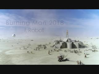 Burning man 2018 - aerial view