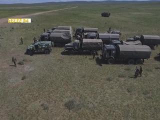 #Тува24 Военное ралли