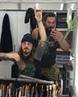 "Jason Momoa on Instagram ""Day 1. Aloha kakahiaka best makeup FX trailer ever lead by @tobylindala and Schmutz aka @matt_outta_hell burritosands..."