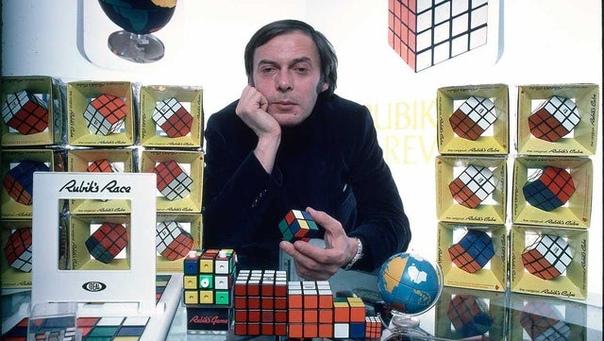 Изобретатель головоломки-кубика, Эрнё Рубик.