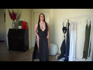 Yandy maxi dress try on haul ruby red 1080 x 1920