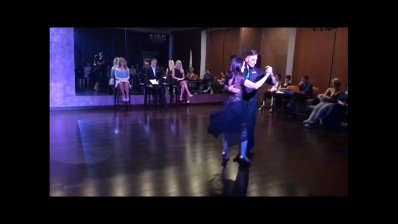 Евгений Миронов и Марина Сергиенко Танго Школа танцев Романа Ковгана