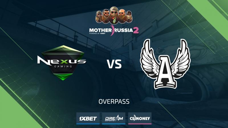 Nexus vs AGO (de_overpass) [Mother Russia 2]