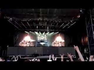 Scorpions - James Kottak drum solo @Trud Stadium, N.Novgorod, Russia, 03.06.2015