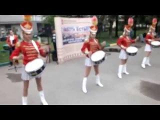 Ансамбль барабанщиц «Золотые эполеты» в МТПП