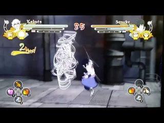 Naruto Storm 3 Full Burst Sage Kabuto vs Sasuke NYCC Footage!