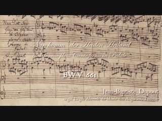 661 J. S. Bach - Chorale prelude