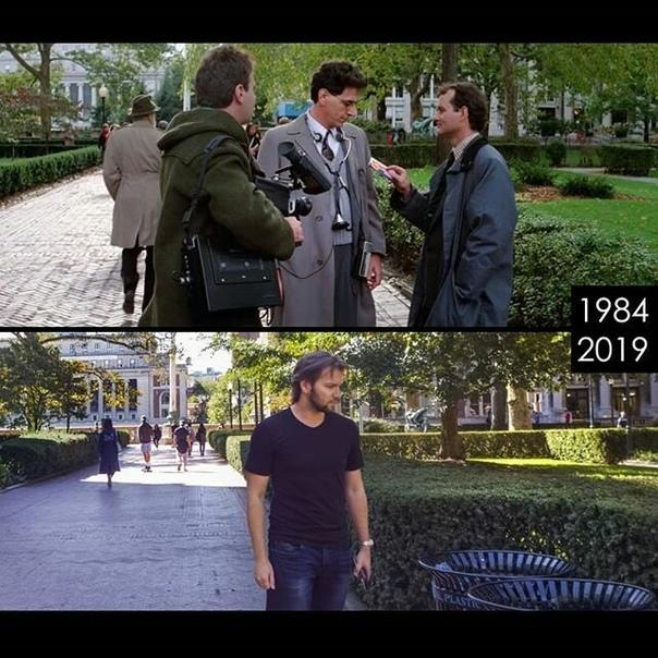 Киноман ищет локации и воссоздает сцены из известных фильмов. Часть 1. Молодой кинопродюсер из Лос-Анджелеса Фил Гришаев ведет аккаунт в Инстаграме, который вполне можно рекомендовать всем, кто