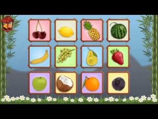 методика Домана - фрукты, овощи, развивающие мультики для детей от 6 месяцев