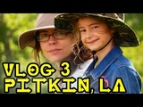 CAMPING WITH KIDS - Family Camping in a Cabin in the Woods p 2 Vlog #3 Pitkin, Louisiana