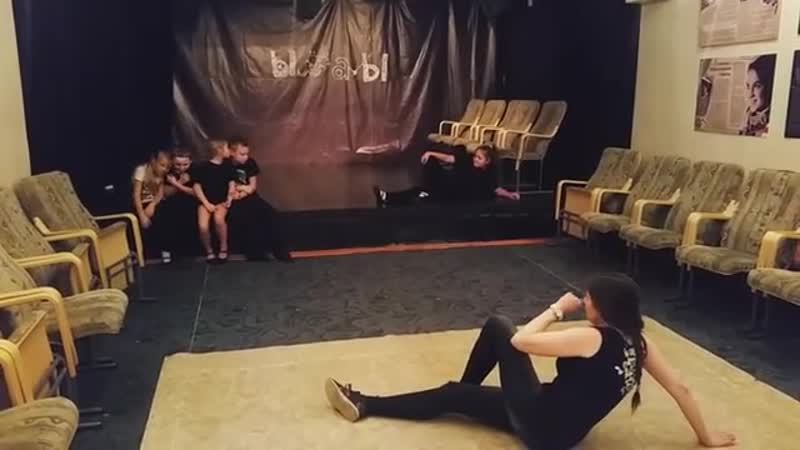 Мастер-класс по актёрскому мастерству от Марины Патапчик.