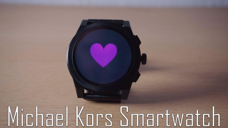 Google Wehr часы от компании MIchael Kors - Обзор.