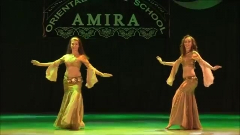 Amazing belly dancing duet Oriental dance school of Amira Abdi 23433