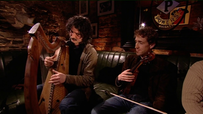 Geantraí TG4 Paul Dooley | Ferryman Pub,Dublin|Irish Medieval Harp