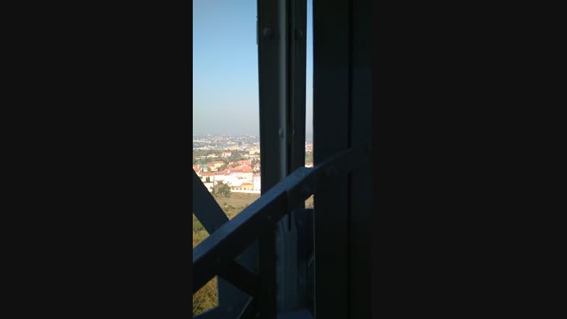 Подьём на Пражскую Эйфелеву башню