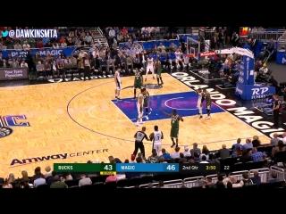 Jonathon Simmons Full Highlights 2018.3.14 Orlando Magic vs Bucks - 35-7 Threes! _ FreeDawkins ( 720 X 1280 60fps ).mp4