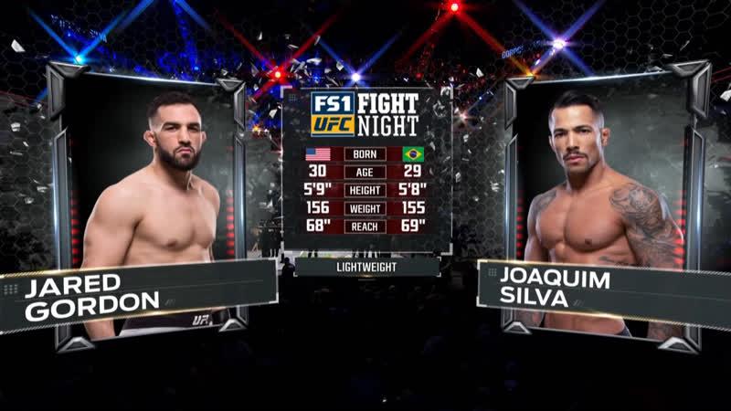 UFC FOX 31 Джаред Гордон — Хоаким Силва