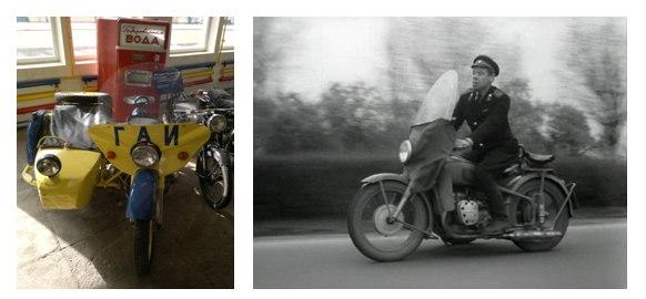 Берегись автомобиля - мотоцикл
